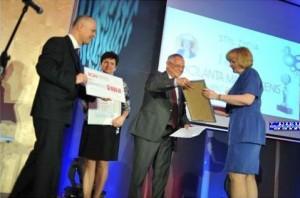 Wręczenie nagród - Dziennikarz Obywatelski roku 2011