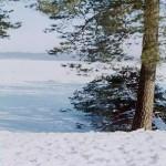 Znaki na śniegu