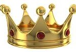 Gold crown - korona królewny
