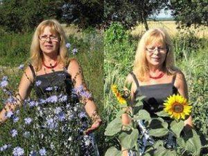 Basia w kwiatach